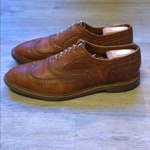 Allen Edmonds McTavish Dark Tan - men's size 12D